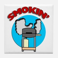 Smokin' Barbecue Tile Coaster