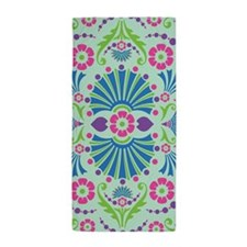 Sea Green Baroque Beach Towel