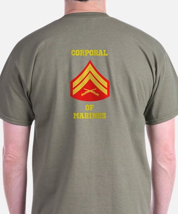 Corporal Of Marines T-Shirt