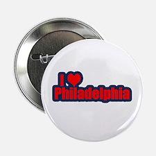 """I Love Philadelphia 2.25"""" Button (10 pack)"""