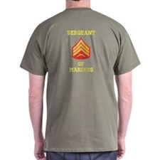 Sergeant Of Marines T-Shirt