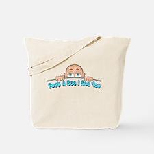 Peek a Boo I See You Baby Boo 1 Tote Bag