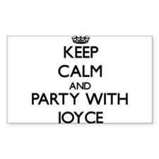 Keep calm and Party with Joyce Decal