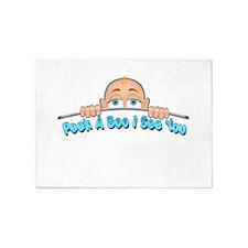 Peek a Boo I See You Baby Boo 1 5'x7'Area Rug
