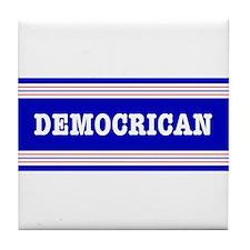 Democrican Swing Vote Tile Coaster