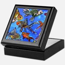 Wild Goldfish Keepsake Box