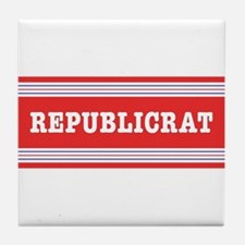 Republicrat Swing Vote Tile Coaster