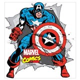 Marvelcaptainamerica Wrapped Canvas Art