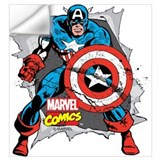 Marvelcaptainamerica Wall Decals