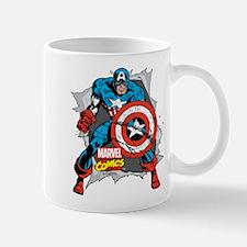 Captain America Ripped Mug