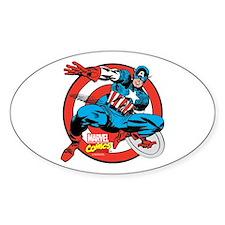 Captain America Shield Decal