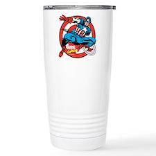 Captain America Shield Travel Mug