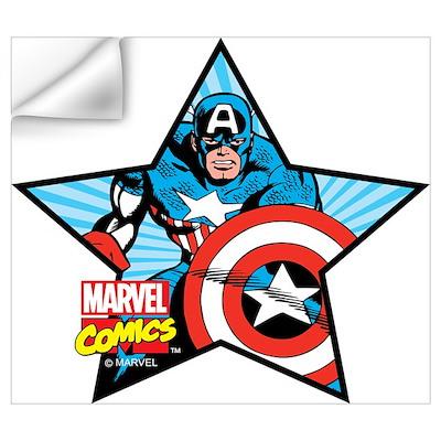 Captain America Star Wall Art Wall Decal