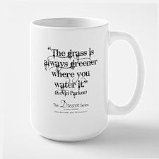 The Grass (black - L) Mugs