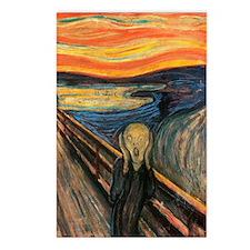 The Scream - Der Schrei d Postcards (Package of 8)