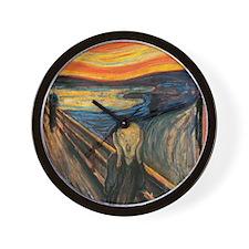 The Scream - Der Schrei der Natur Wall Clock