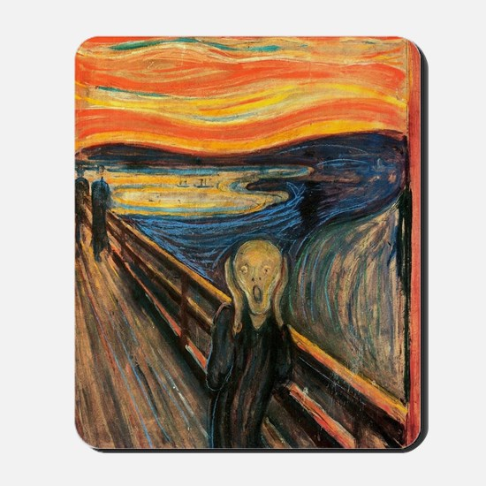 The Scream - Der Schrei der Natur Mousepad