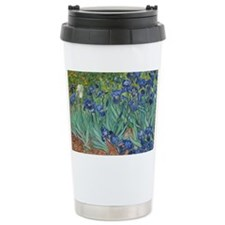 Irises Vincent Van Gogh Travel Coffee Mug