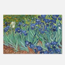 Irises Vincent Van Gogh R Postcards (Package of 8)