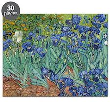 Irises Vincent Van Gogh Reprint Puzzle