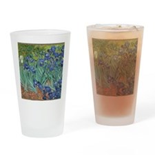 Irises Vincent Van Gogh Reprint Drinking Glass