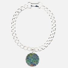 Irises Vincent Van Gogh  Charm Bracelet, One Charm