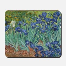 Irises Vincent Van Gogh Reprint Mousepad