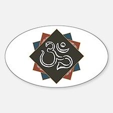 Classic Om Symbol Decal