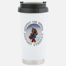 Respect the Sherpa-Everest-1 Travel Mug