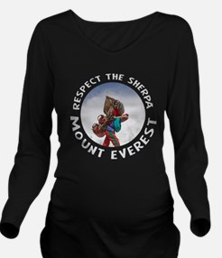Respect the Sherpa-Everest-1 Long Sleeve Maternity