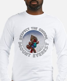 Respect the Sherpa-Everest-1 Long Sleeve T-Shirt