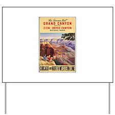 Grand Canyon Yard Sign