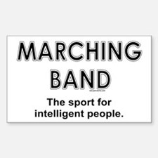 Marching Band Rectangle Decal