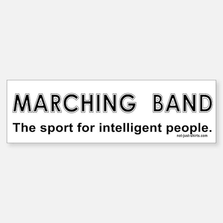 Marching Band Bumper Bumper Bumper Sticker