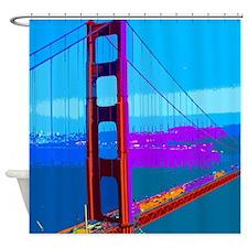 Cute Golden gate bridge Shower Curtain