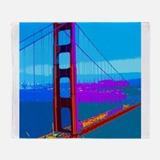 Unique Golden gate bridge Throw Blanket