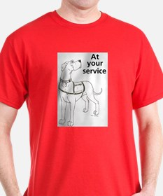 Nvest At Your Sevice T-Shirt