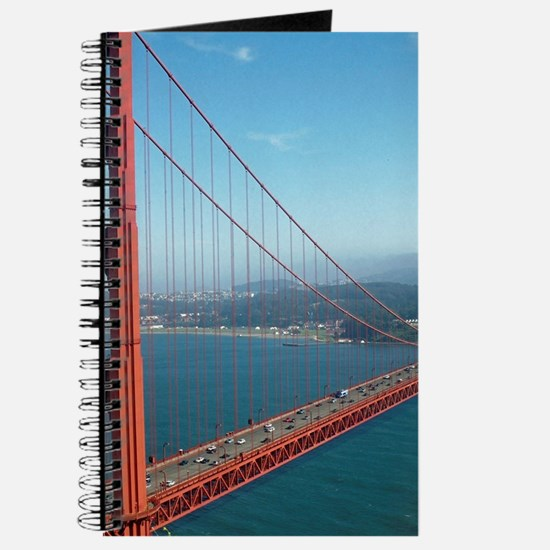 Unique Golden gate bridge photo Journal