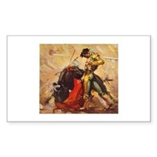 Matador Vintage Art Decal
