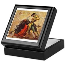 Matador Vintage Art Keepsake Box