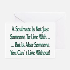...A Soulmate Is... Greeting Cards (Pk of 10)