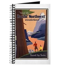 Pacific Northwest Vintage Art Journal