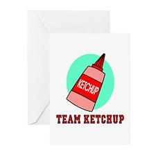Team Ketchup Greeting Cards (Pk of 10)