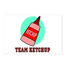 Team Ketchup Postcards (Package of 8)