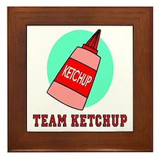 Team Ketchup Framed Tile