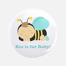 "sleeping-baby-bee-cafepress 3.5"" Button"