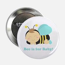 "sleeping-baby-bee-cafepress 2.25"" Button"