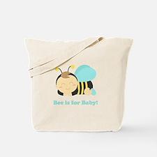 sleeping-baby-bee-cafepress Tote Bag