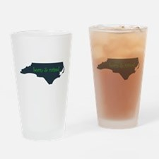 NC Born & Raised Drinking Glass