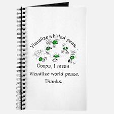 Whirled Green Peas Journal